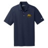 Nike Golf Dri-FIT Vertical Mesh Polo - Marine: Click to Enlarge