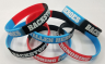 Backstoppers Tri Color Wristbands: Click to Enlarge