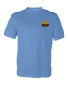 Badger - B-Core Short Sleeve T-Shirt - Columbia Blue: Click to Enlarge
