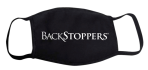 Black Backstopper Mask: Click to Enlarge