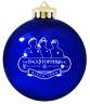 Blue Holiday Ornament: Click to Enlarge