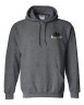 Dark Grey Hooded Sweatshirt: Click to Enlarge