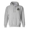 Grey Hooded Sweatshirt: Click to Enlarge