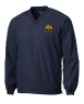 Sport-Tek V-Neck Raglan Wind Shirt - with Embroidered Logo: Click to Enlarge