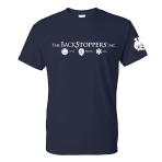 The Backstoppers T-Shirt - Navy: Click to Enlarge