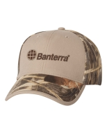 Camo Cap with Embroidered Logo: Click to Enlarge