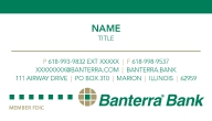 Banterra Business Cards: Click to Enlarge